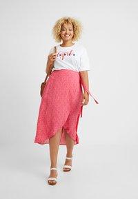 New Look Curves - BLOCK SKIRTS - Kietaisuhame - pink - 1