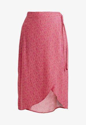 BLOCK SKIRTS - Omslagsskjørt - pink