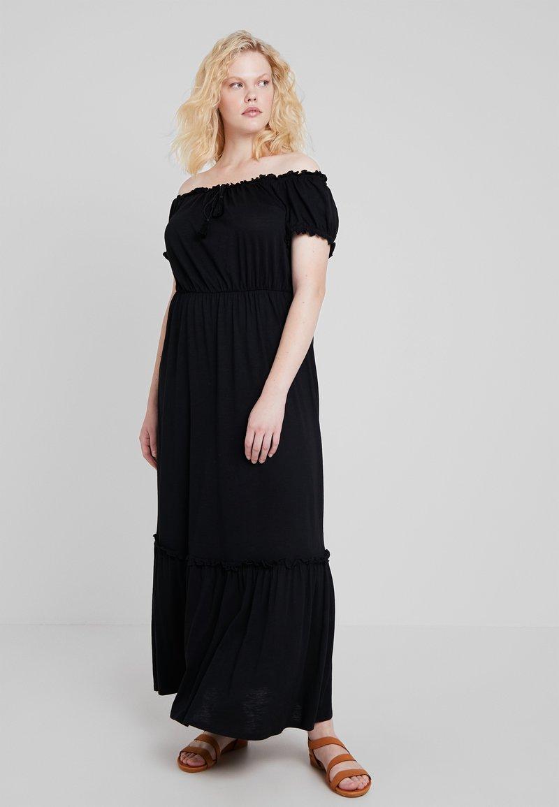 New Look Curves - GYPSY MAXI DRESS UPDATE - Maxikleid - black