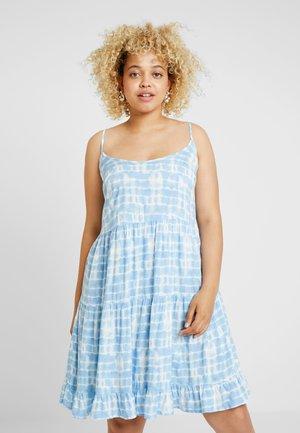 TIE DYE - Denní šaty - blue