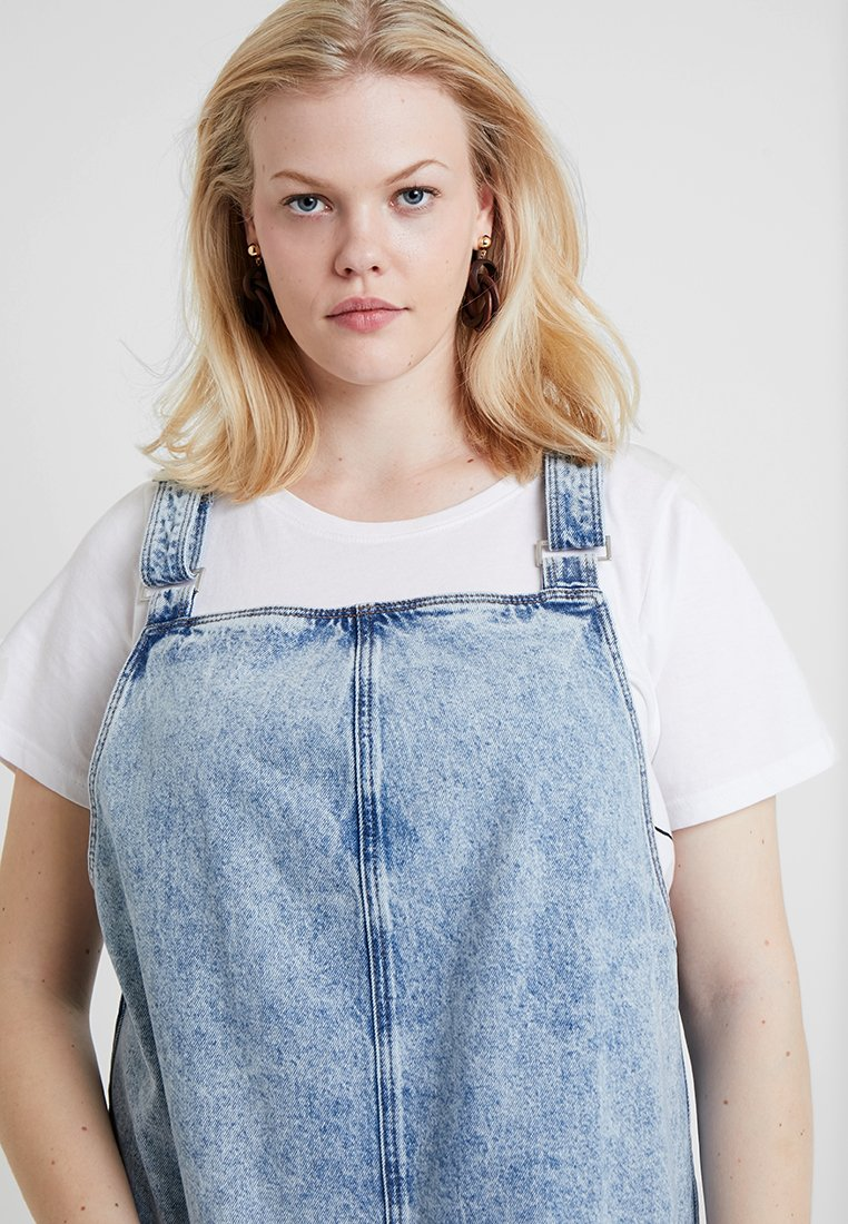 Look Blue Jeans Pinny Curves Buckle Di AcidVestito New Charlotte 2IebYEH9WD
