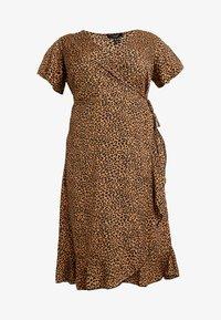 New Look Curves - BRIGHT SPRIG TIERED DRESS - Vestito estivo - multi-coloured - 4