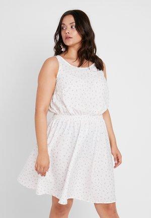 CLAYTON - Denní šaty - white