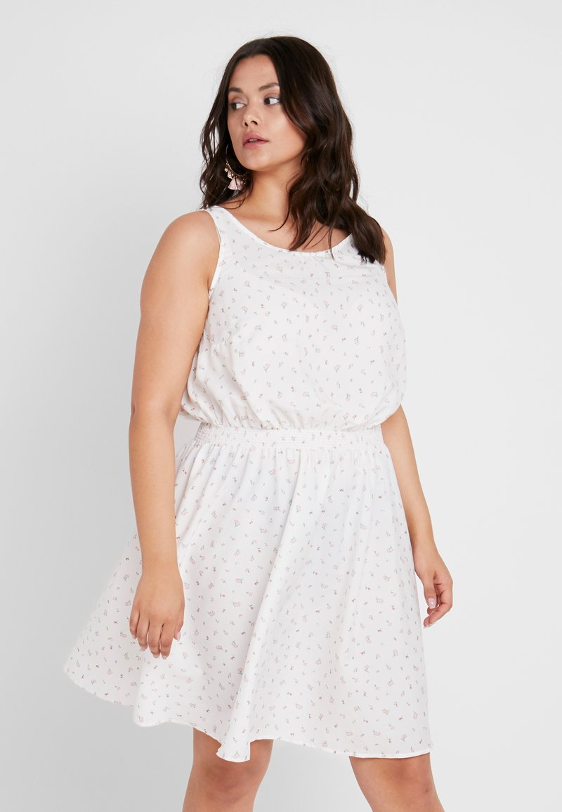 New Look Curves - CLAYTON - Denní šaty - white