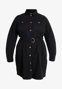 New Look Curves - CALLY - Robe en jean - black - 6