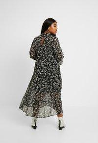 New Look Curves - LOUISA PIECRUST TIERED DRESS - Maxikjole - black - 3
