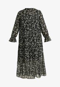 New Look Curves - LOUISA PIECRUST TIERED DRESS - Maxikjole - black - 4