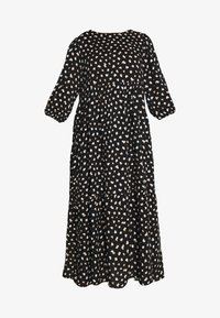 New Look Curves - X NELLY TIERED DRESS - Maxikjole - black - 4