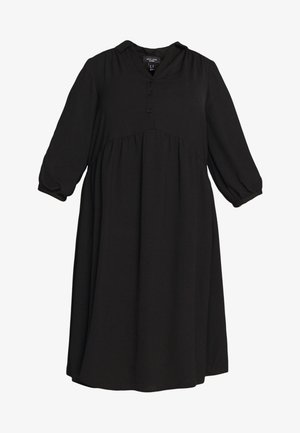 SMOCK DRESS - Vestido camisero - black
