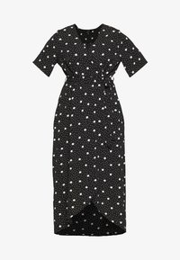 New Look Curves - ESMERELDA DRESS - Robe longue - black - 4