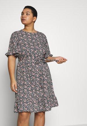 LEILAH DRESS - Kjole - black