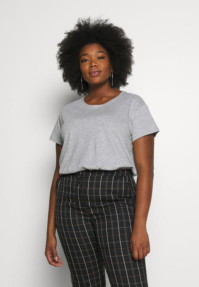 FOR ORGANIC BOYFRIEND TEE 2 PACK - Print T-shirt - black/white