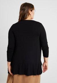 New Look Curves - CARDI - Sudadera con cremallera - black - 2