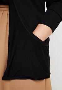 New Look Curves - CARDI - Sudadera con cremallera - black - 4