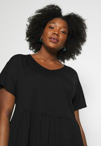 New Look Curves - T-shirts basic - black - 6