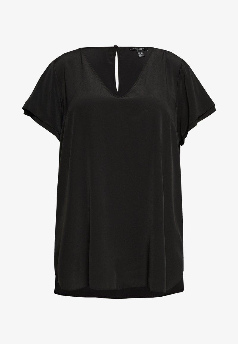 New Look Curves - CURVES MORROCAIN NOAH TUNIC - Bluser - black