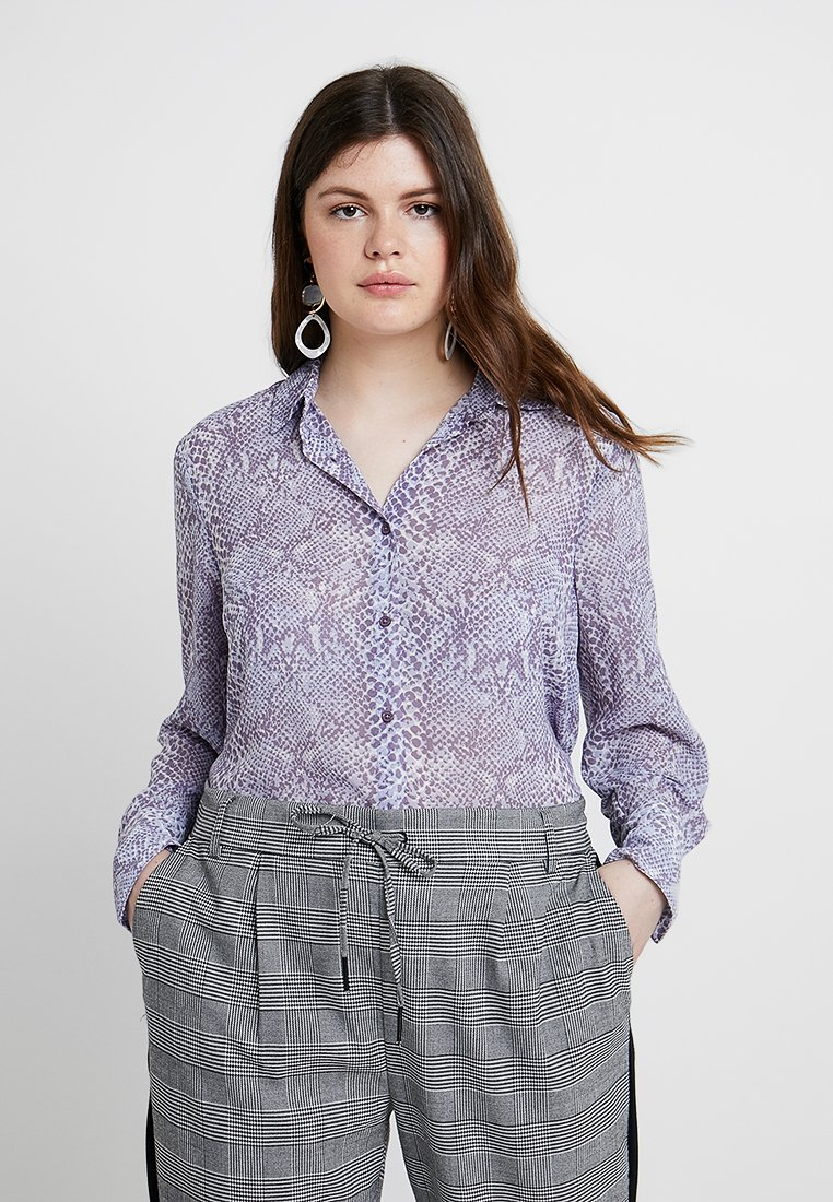 New Look Curves - Hemdbluse - lilac