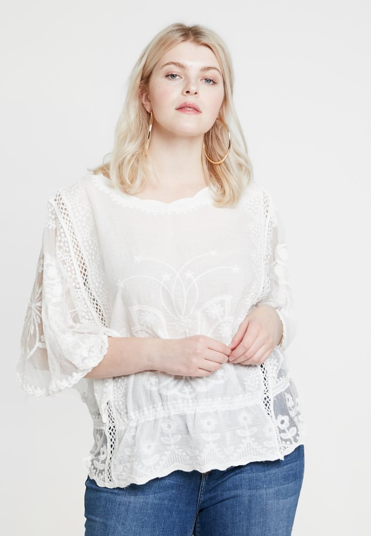 New Look Curves - EMILY SHELL - Blouse - off white