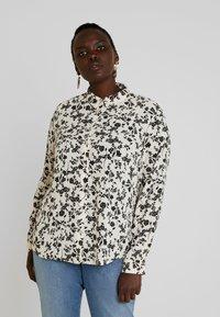 New Look Curves - PRINT - Košile - black - 0