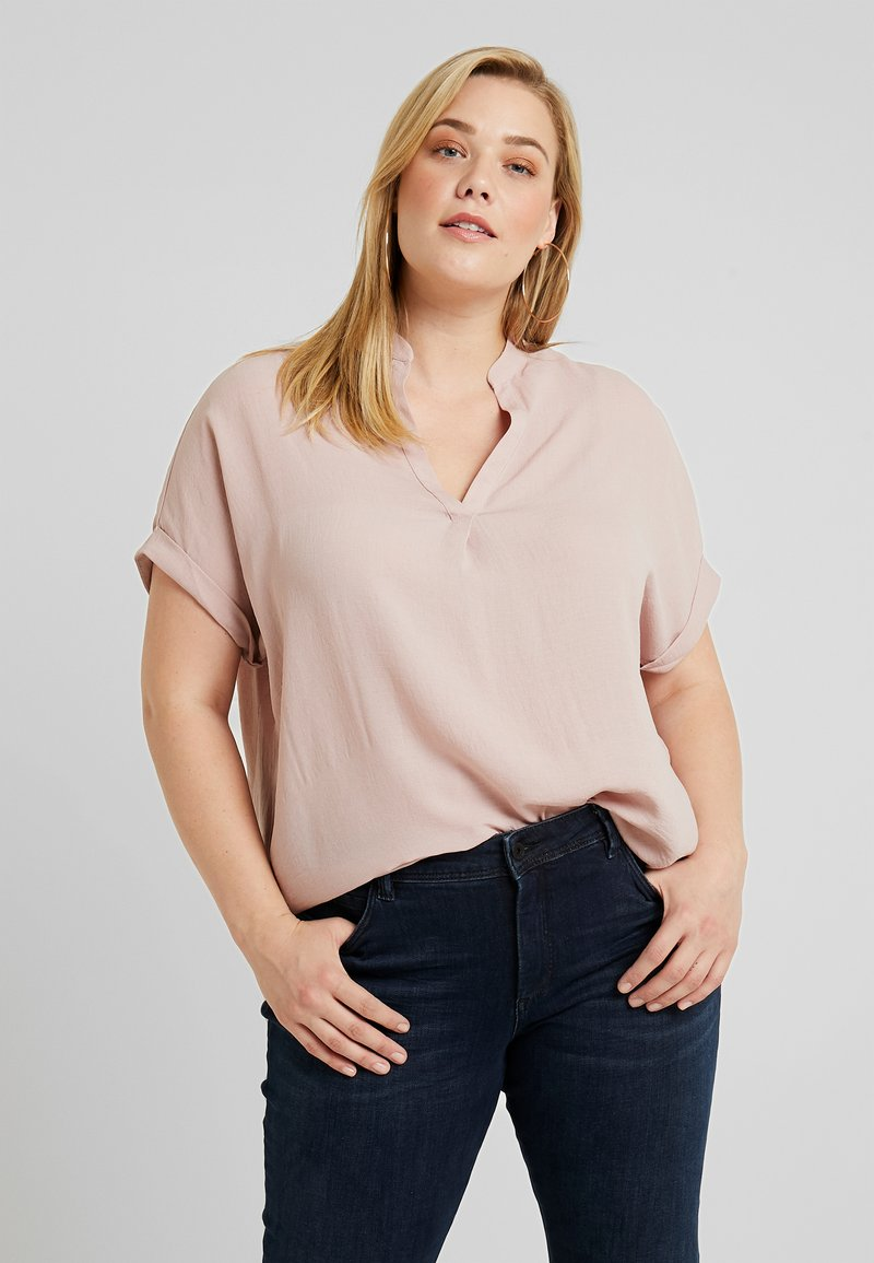 New Look Curves - MATILDA OVERHEAD - Bluse - pink