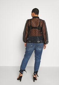 New Look Curves - SPOT BALLOON - Camisa - black - 2
