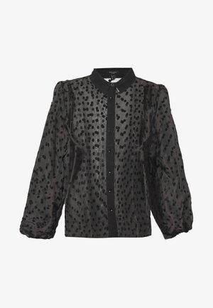 SPOT BALLOON - Skjorte - black