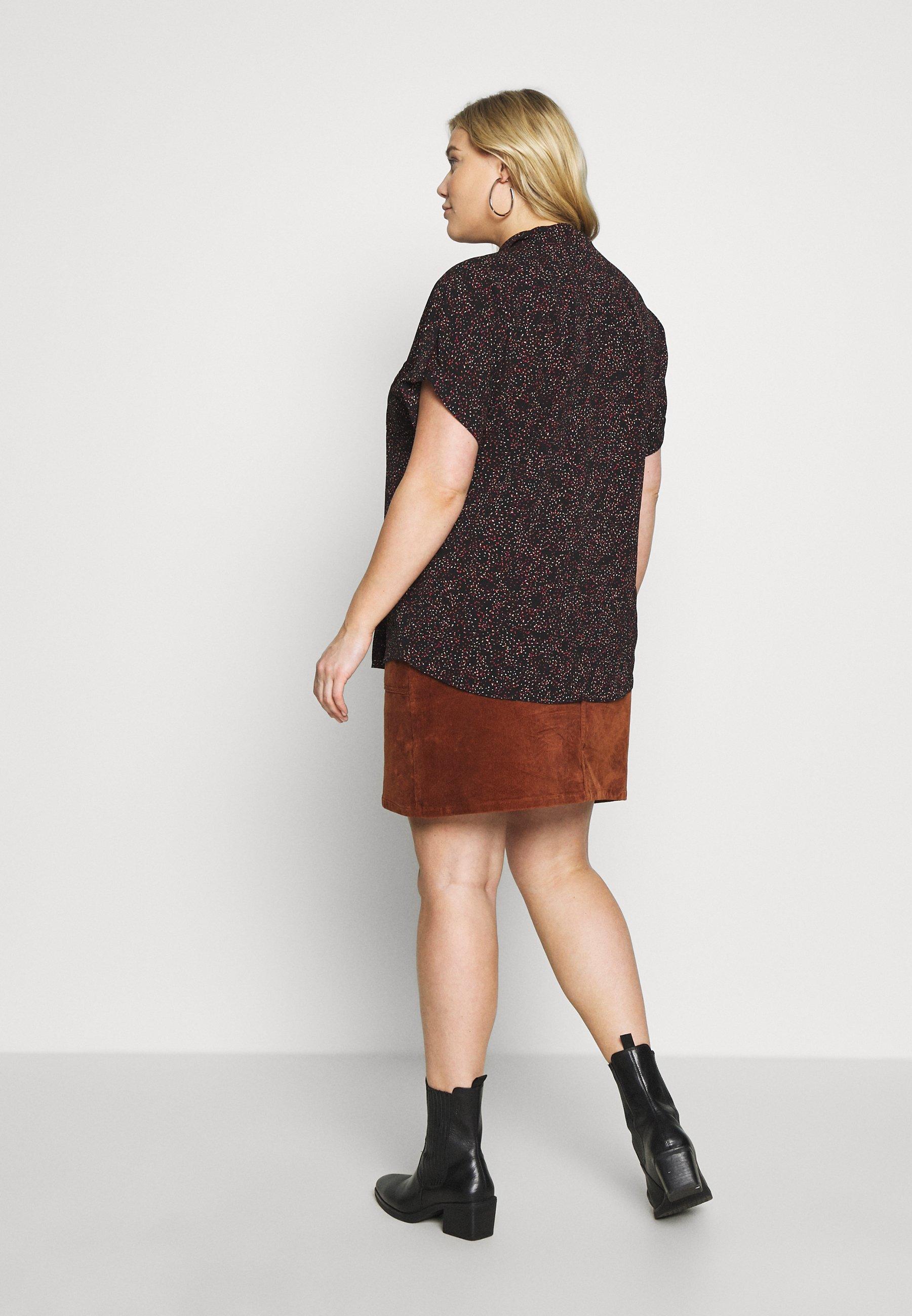 New Look Curves POCKET - Skjorte - multi-coloured