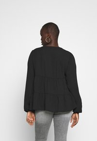 New Look Curves - BROOKE TIERED BUTTON THU - Blouse - black - 2