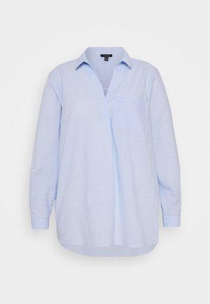 FREDDIE STRIPE OVERHEAD - Blouse - blue