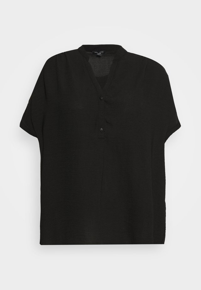 MOLLY OVERHEAD - Blouse - black