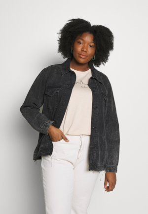 JACKET - Veste en jean - black