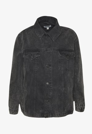 JACKET - Jeansjakke - black