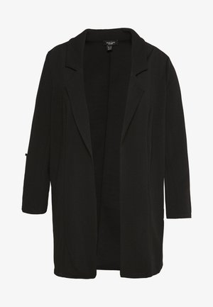 RIVERPOOL TAB SLEEVE - Cappotto corto - black