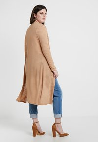 New Look Curves - CARDI - Kardigan - camel - 2