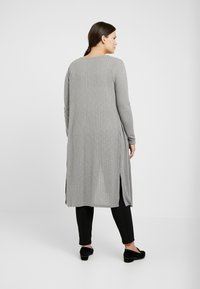 New Look Curves - CARDI - Cardigan - grey - 2