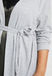 New Look Curves - SELF BELT CARDI - Vest - light grey - 5