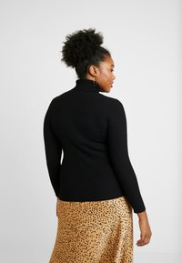 New Look Curves - ROLL NECK - Maglione - black - 2