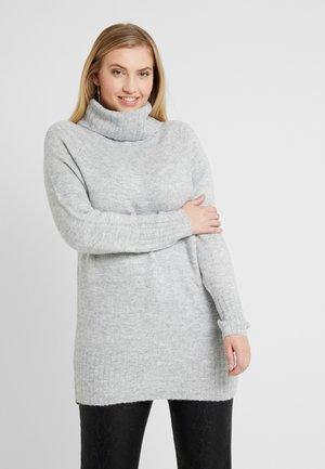 ROLL NECK JUMPER - Pullover - mid grey