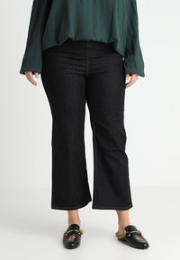 New Look Curves - Jeans bootcut - navy - 0
