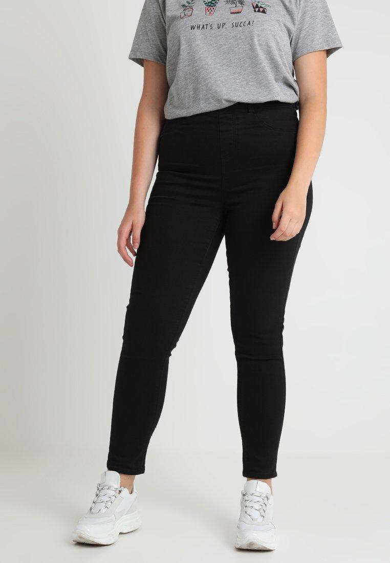 New Look Curves - Jeggings - black