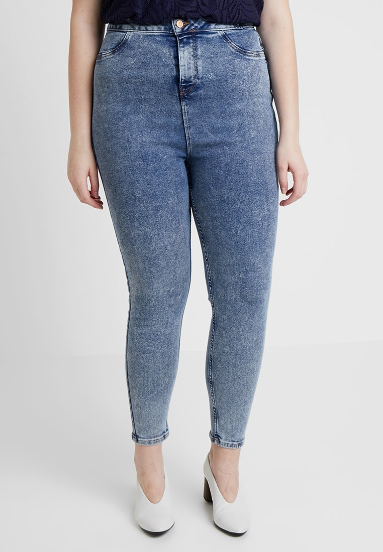 New Look Curves - DISCO BLUEBELL - Jeans Skinny Fit - light blue