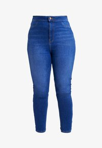 New Look Curves - DISCO BROMO - Jeans Skinny Fit - blue - 3