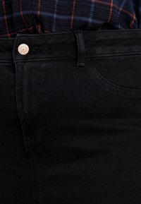 New Look Curves - HALLIE DISCO - Jeans Skinny Fit - washed black - 4
