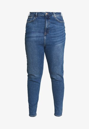 WAIST ENHANCE MOM - Jeans straight leg - mid blue
