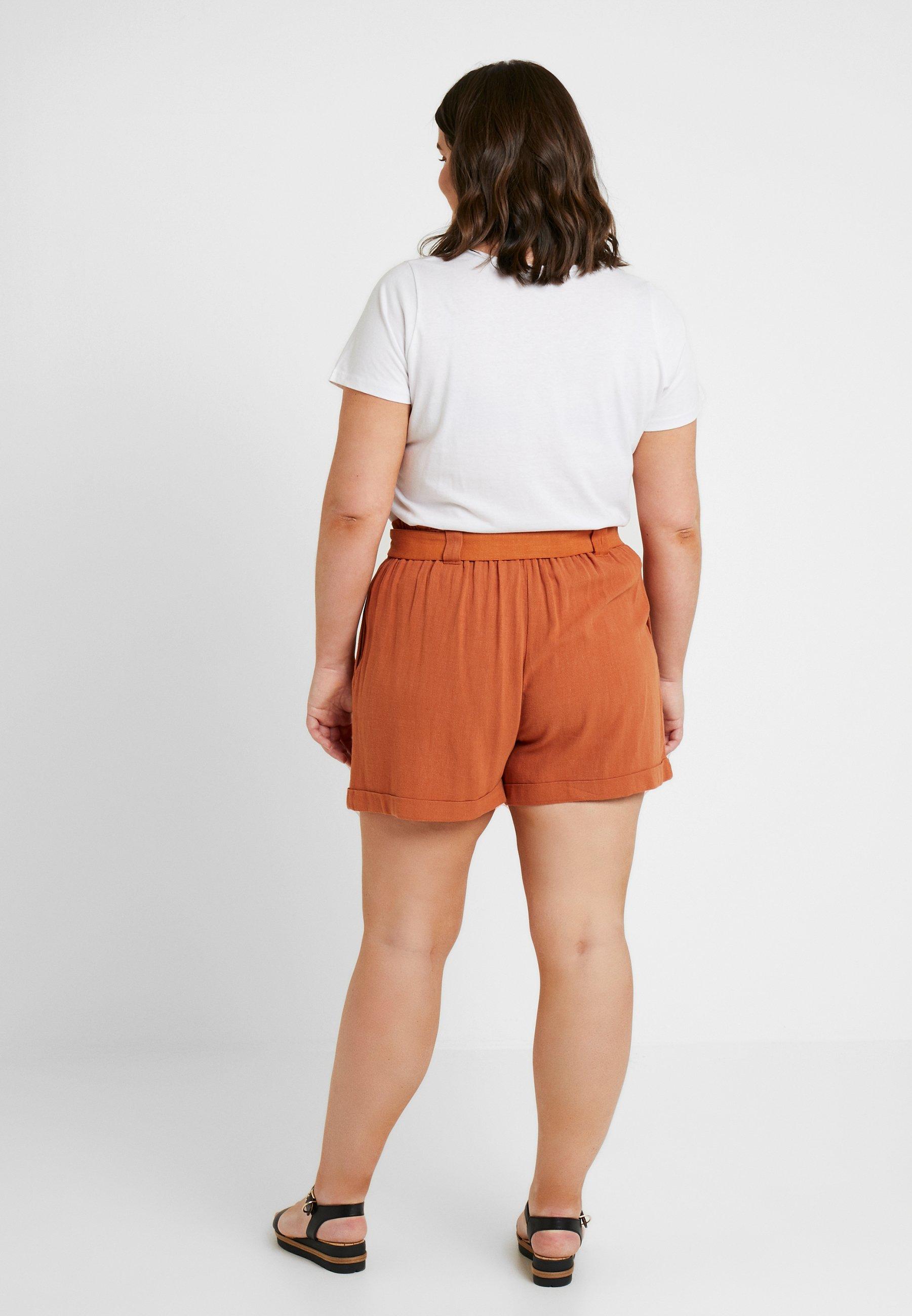 Look New BuckleShort Bermuda Burnt Orange Curves OkXPiTZu