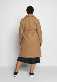 New Look Curves - GABRIELLE BOILED BELTED - Classic coat - camel - 2