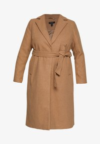 New Look Curves - GABRIELLE BOILED BELTED - Classic coat - camel - 4