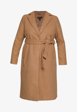 GABRIELLE BOILED BELTED - Classic coat - camel