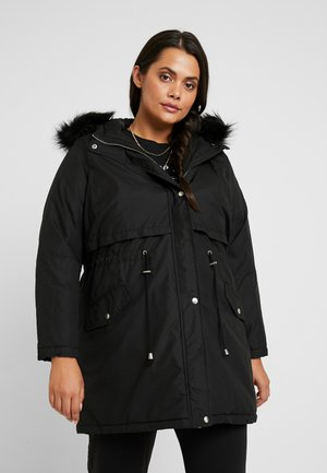 HOODED - Parkatakki - black