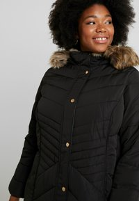 New Look Curves - MAISIE FITTED PUFFER - Veste d'hiver - black - 4
